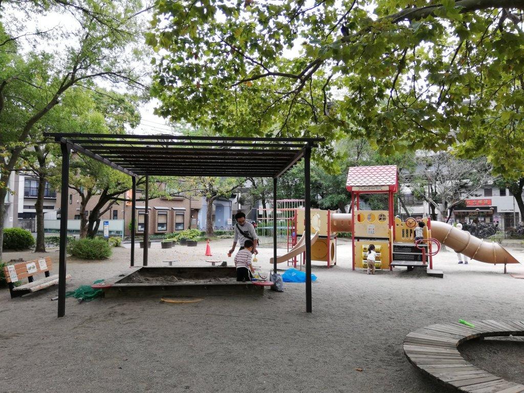 葛西東公園の砂場