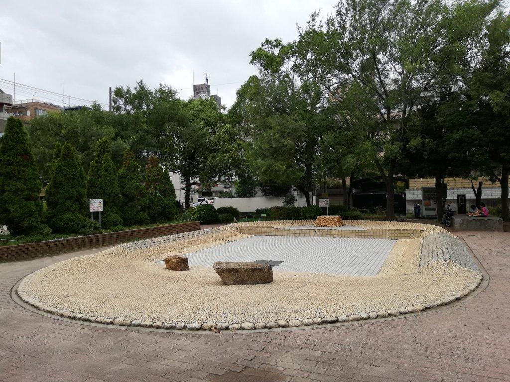 葛西東公園のじゃぶじゃぶ池