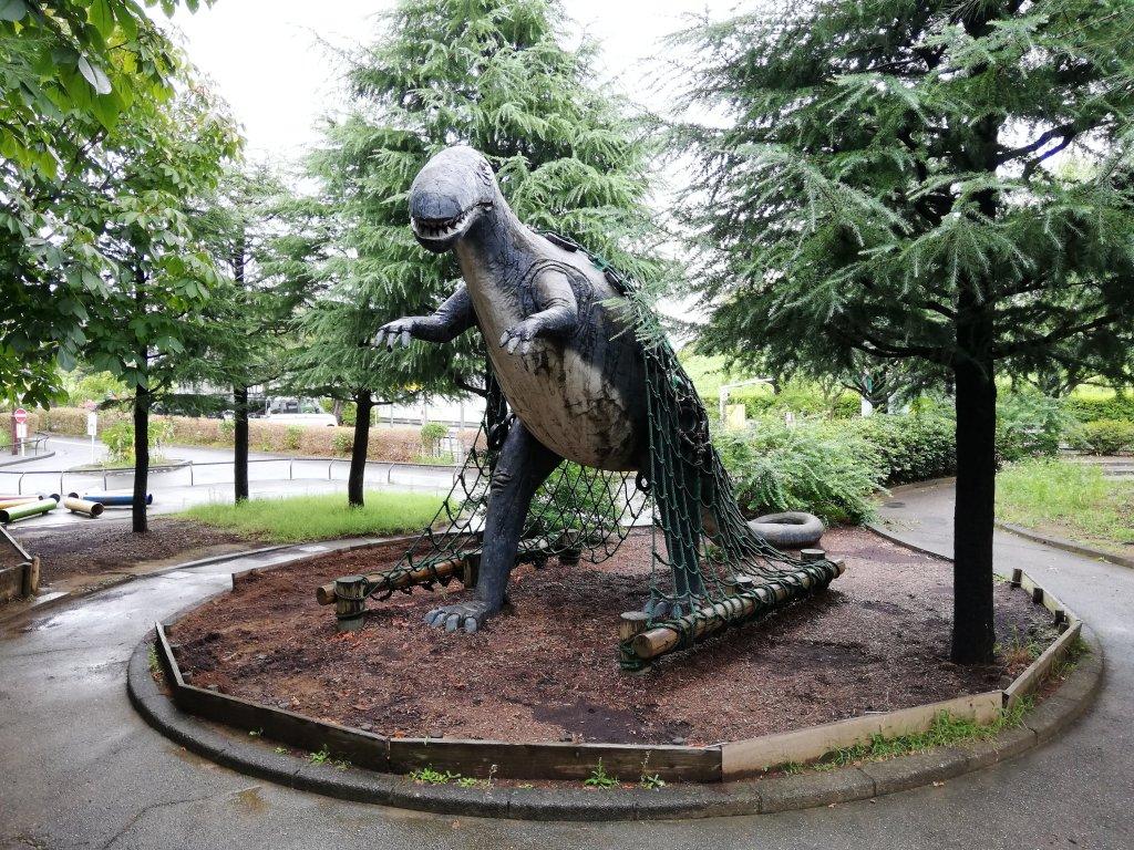 北沼公園の恐竜
