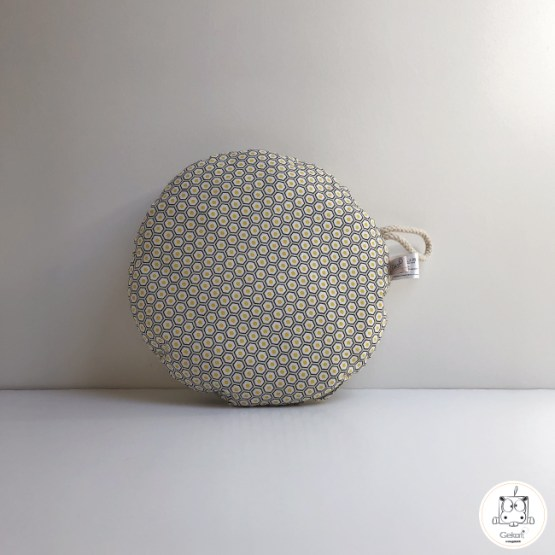 coussin rond ruche GEKATI