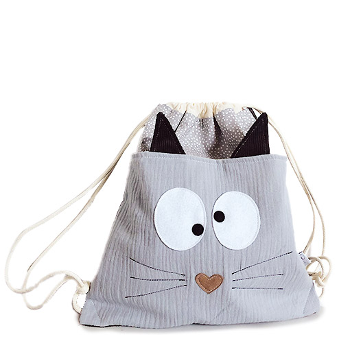sac a dos chat enfant made in france gekati