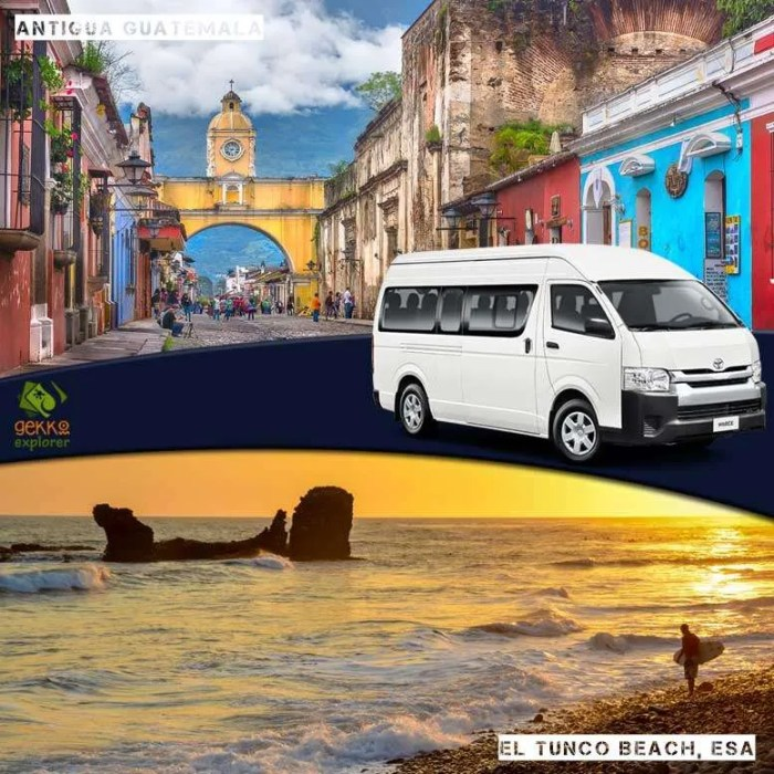 shuttle-antigua-guatemala-to-el-tunco-beach