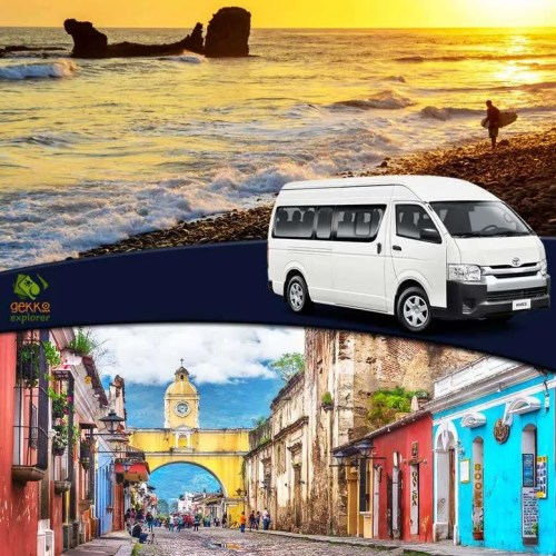 shuttle-el-tunco-beach-to-antigua-guatemala