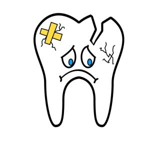 虫歯は放置しないでね。酷くなると高くなっちゃうよ・・・。