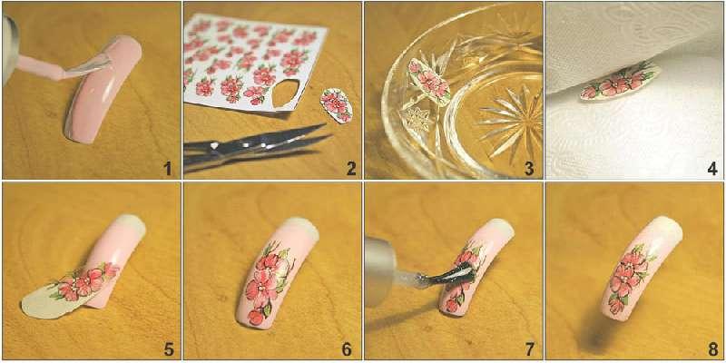 Πώς να κολλήσετε αυτοκόλλητα στα νύχια