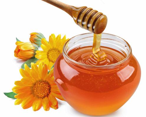 sacolé com mel