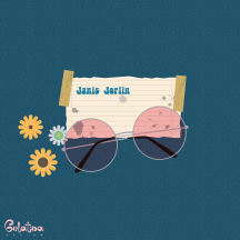 janis joplin - Every Day - Gelatina Design