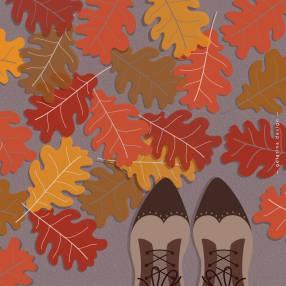 Autumn, shoes - Gelatina Design