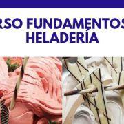 Curso fundamentos de heladería Madrid Marzo 2021