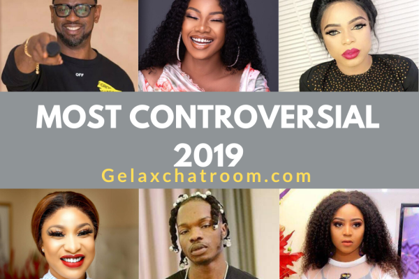 Most Controversial Nigerian Celebrities 2019