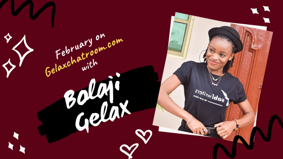 Bolaji Gelax on Gelax Chatroom