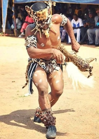 Tiv Cultural Dancer