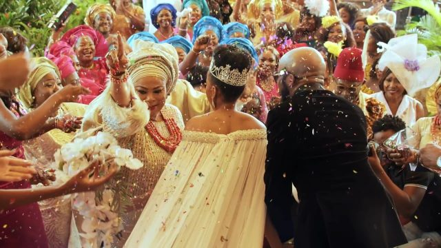 Nigerian Wedding Party