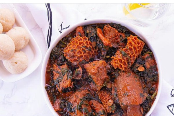 How to eat Eba and still have flat stomach