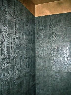 nera croco leather