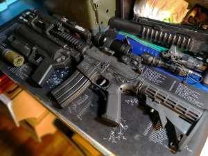 New Wells M4a1 gel blaster