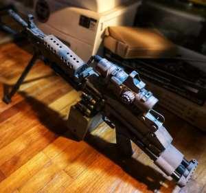 M249 gel blaster by ZeHua