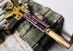 LeHui HK416 V2 Gel Ball Blaster mod 1
