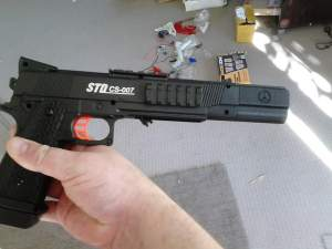 STD M1911 Original Gel Ball Blaster with Hop-up 1