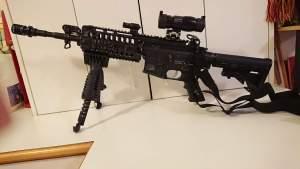 SKD M4SS Gel Blaster mod 2