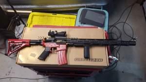 SKD M4SS Gel Blaster Mod 4