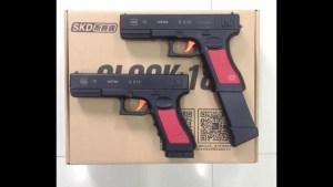 SKD G18 Gel Blaster chargeur long