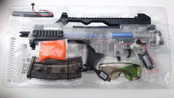 G36 V2 New Well Gel Blaster Packaging