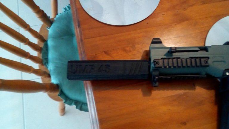 Silencieux UMP45 imprimé 3D Gel Blaster