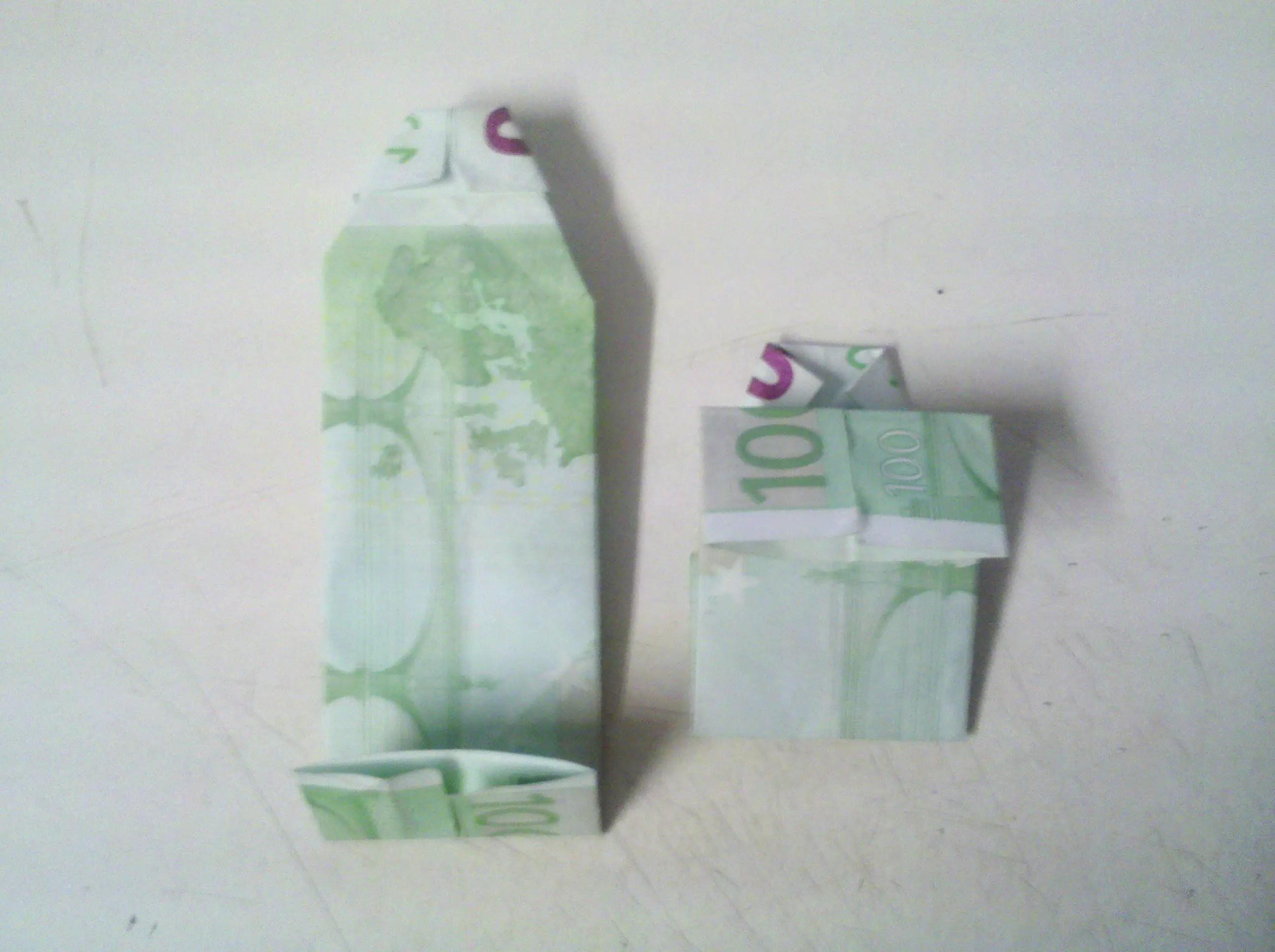Hemd Aus Geldschein Falten Origami Mit Geldscheinen
