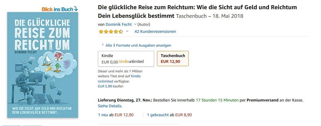 Buch Die glückliche Reise zum Reichtum