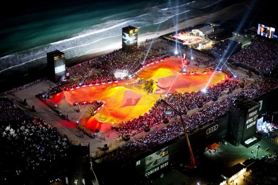 Red Bull X Fighters в Дубае
