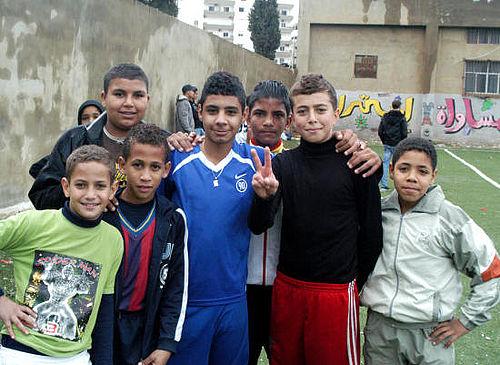 ACFC var i Libanon med bolde og demokrati