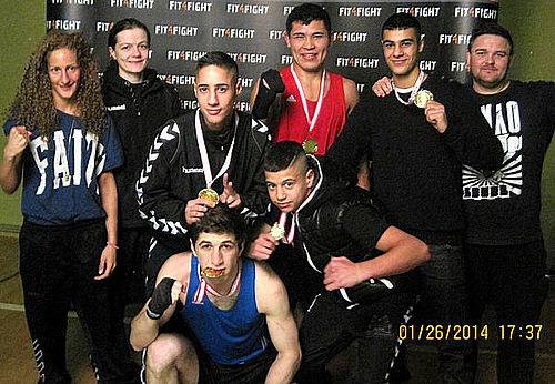 Alle syv boksere fik guld