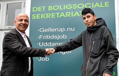 Abdulrahman fik hjælp til at vælge faglig uddannelse