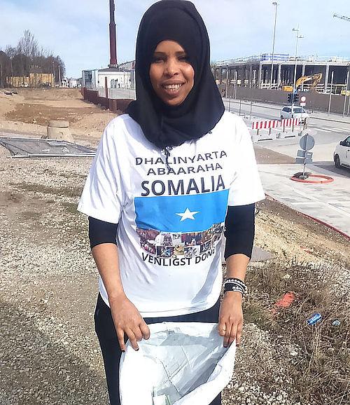 Amal hjælper Somalia