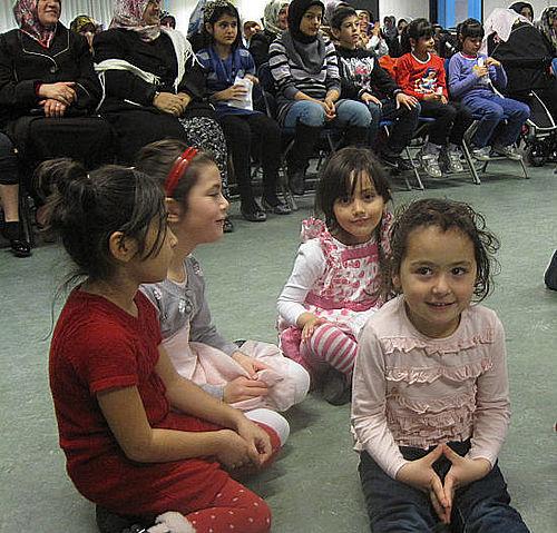 Festlig tyrkisk Bayram-fest for børnene