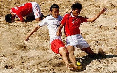 Idé om strandfodbold i Gellerup