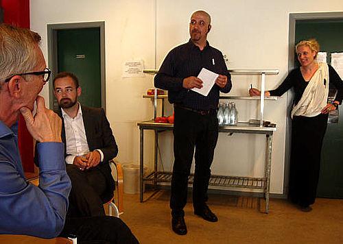 Gellerups beredskab mødtes med borgmesteren