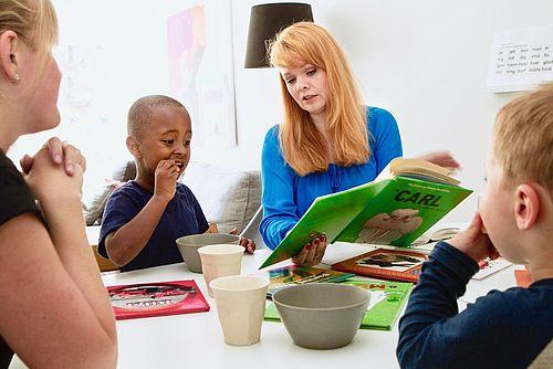 Giv en ungdomsbog til boghandleren