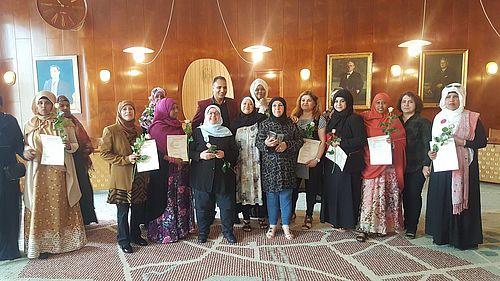13 nye bydelsmødre var på rådhuset