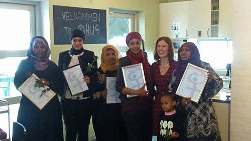 Stolte bydelsmødre fik deres diplomer