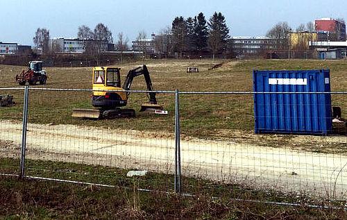 Gravemaskiner ind igen ved Nordgårdskolen