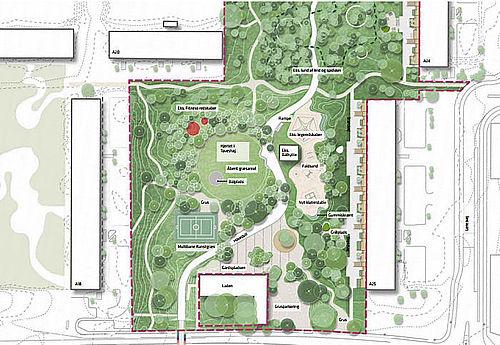 Kom og se byparken på informationsmøder