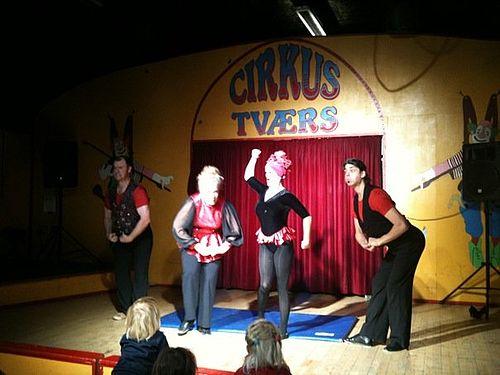 Cirkus Tværs på vej til Damaskus