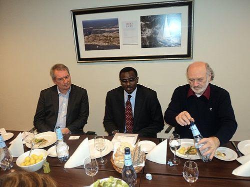 Somalisk minister til Gellerup