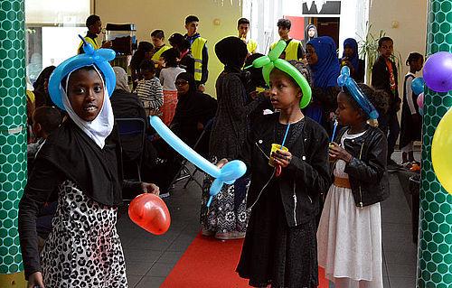 Børnenes hurtige Eid-fest