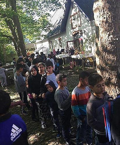 Stor Eidfest i Toveshøj