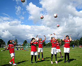 Fodboldskole efter ramadanen