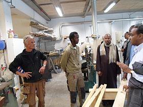 Forældre besøgte Århus Produktionsskole