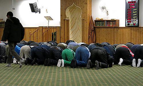 Åbent hus i Fredens moské